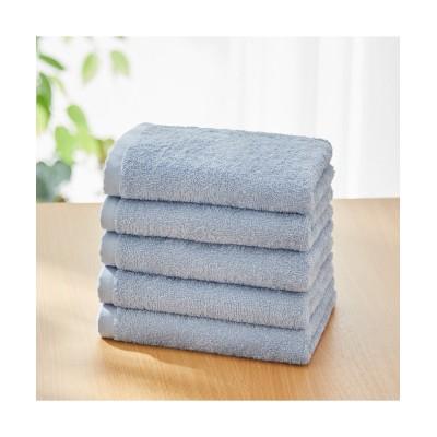 【中厚手】フェイスタオル5枚セット(デイリーシリーズ) フェイスタオル, Towels(ニッセン、nissen)