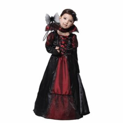 ハロウィン 衣装  子供  ワンピース 女の子 ハロウィン コスプレ 仮装パーティー 魔女 halloween?party 子どもドレス  貴族 バンパイア