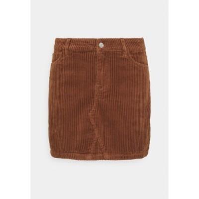 オンリー レディース スカート ボトムス ONLSKY ENY LIFE SKIRT - Denim skirt - rustic brown rustic brown