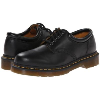 ドクターマーチン Dr. Martens レディース ローファー・オックスフォード シューズ・靴 8053 Black Nappa Leather