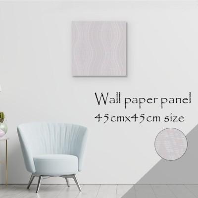 アートパネル アートボード 北欧 パターン 波 波模様 流れ 清楚 清潔感 ホワイト ラメ キラキラ 模様替え 壁飾り モダン シック高級 エンボス 壁紙