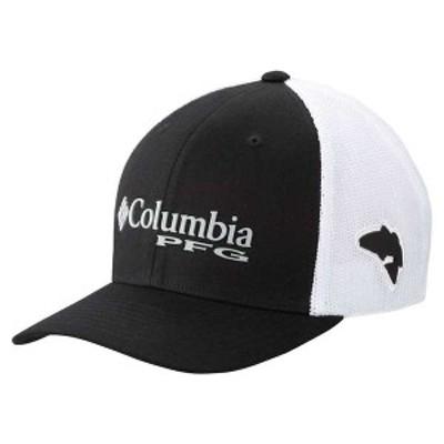 コロンビア メンズ 帽子 アクセサリー Columbia PFG Mesh Ball Cap Black