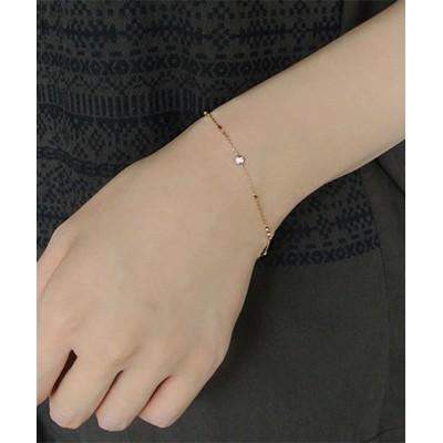 ブレスレット K18 ダイヤモンド ベーシック ブレスレット