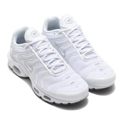 ナイキ NIKE スニーカー エア マックス プラス (WHITE/WHITE-BLACK-COOL GREY) 20FA-I