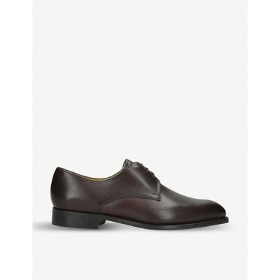 バーカー BARKER メンズ 革靴・ビジネスシューズ ダービーシューズ シューズ・靴 St Austell leather derby shoes DARK BROWN