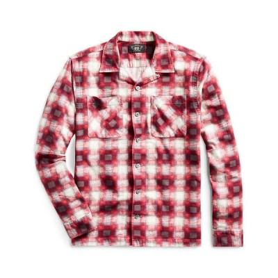 新品 RRL プラッド フランネル キャンプシャツ S