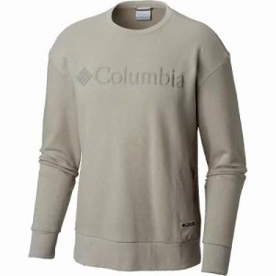 コロンビア スウェット・トレーナー Bugasweat Crew Sweatshirt Flint Grey