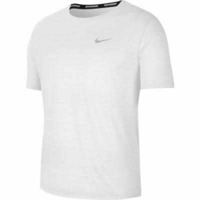 NIKE ナイキ Tシャツ ランニング メンズ 半袖 DRI-FIT マイラー CU5993-100