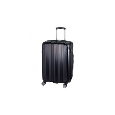 SKYROVER 24インチ キャリーケース 約74〜86L S19-D-703 ブラック    キャンセル返品不可 他の商品と同梱・同時購入不可