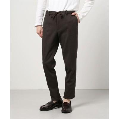 パンツ スーツ FULFLAN/フルフラン ポリエステルツイードセットアップパンツ