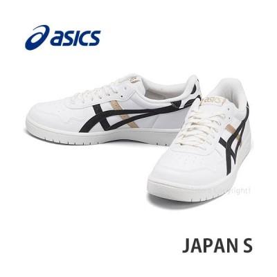 アシックス ジャパン エス asics JAPAN S スニーカー シューズ 靴 メンズ タウンユース アスレジャー 男性 MENS カラー:WHITE/BLACK