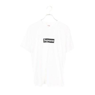 シュプリーム SUPREME 16SS Paris Box Logo Tee パリオープン記念ボックスロゴTシャツ M ホワイト  NO05 中古