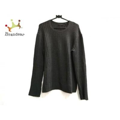 ダナキャラン DONNAKARAN 長袖セーター サイズS メンズ - ダークグレー クルーネック 新着 20210226