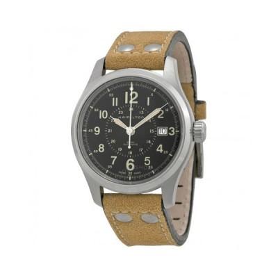 Hamilton/ハミルトン メンズ 腕時計 Khaki Field 自動巻き Black Dial メンズ Watch H70595593