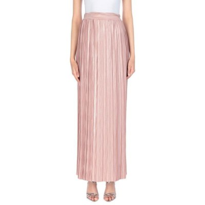 CLIPS ロングスカート  レディースファッション  ボトムス  スカート  ロング、マキシ丈スカート ピンク