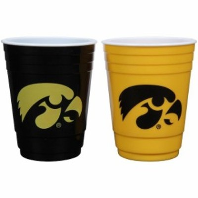 The Memory Company ザ メモリー カンパニー スポーツ用品  Iowa Hawkeyes Two-Pack Home And Away Plastic Cup