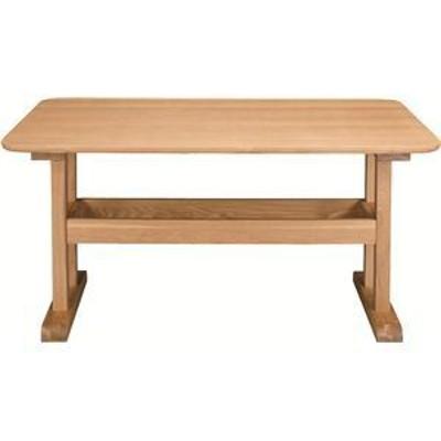 ds-690765 ダイニングテーブル 【デリカ】 長方形 木製 4人掛けサイズ HOT-456NA ナチュラル (ds690765)