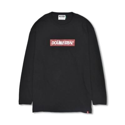 ロンT 長袖 メンズ ストリート ダブルスティール DOUBLE STEAL 2019 FALL / Elefant BOX 長袖 Tシャツ