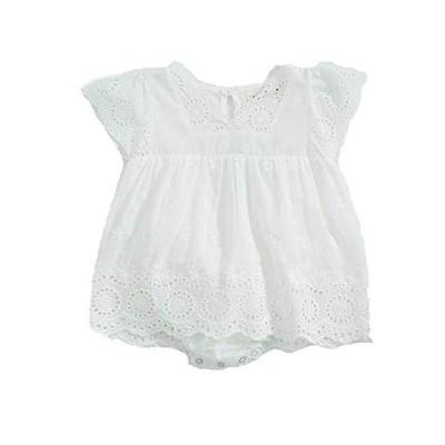 Rima ベビー服 夏 半袖 ロンパース 赤ちゃん服 ボディースーツ 肌着 パジャマ セレモニー 女の子 綿 かわいい 通