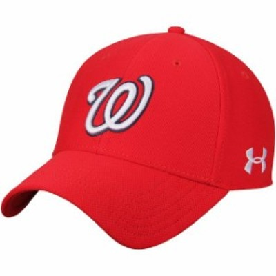 Under Armour アンダー アーマー スポーツ用品  Under Armour Washington Nationals Red Blitzing Performance Adjustable Hat