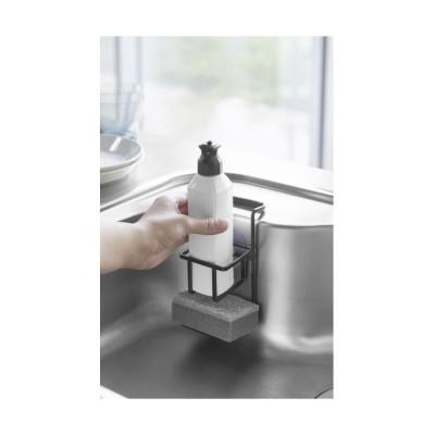 (tower/タワー)吸盤 スポンジ&ボトルホルダー タワー  ブラック/ユニセックス ブラック