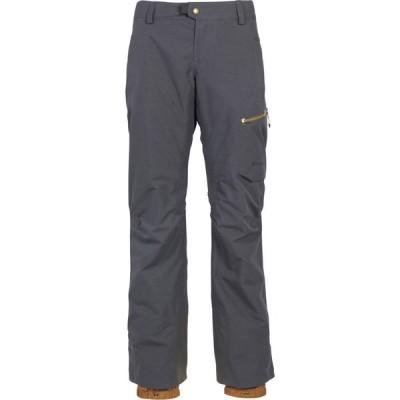 シックス エイト シックス 686 レディース スキー・スノーボード ボトムス・パンツ glcr gore-tex utopia insulated pants Charcoal Texture