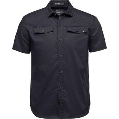 ブラックダイヤモンド メンズ Tシャツ トップス Black Diamond Men's Benchmark SS Shirt Black