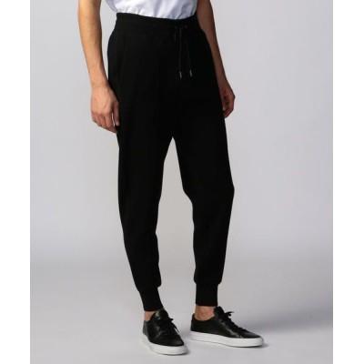 TOMORROWLAND/トゥモローランド コットンカシミヤ パンツ 19 ブラック XS