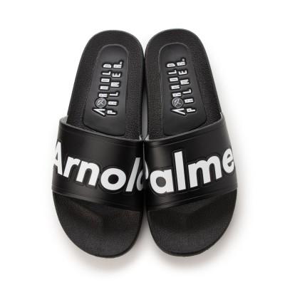 アーノルド パーマー フットウェアー Arnold Palmer FOOTWEAR シャワーサンダル メンズ スライド (BLACK)