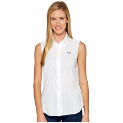 コロンビア レディース シャツ トップス Tamiami¢ Sleeveless Shirt White