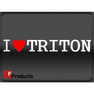 Fproducts アイラブステッカー/TRITON/アイラブ トライトン