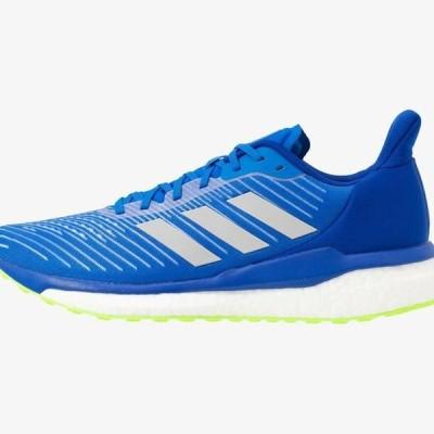 アディダス メンズ 靴 シューズ SOLAR DRIVE 19 - Neutral running shoes - glow blue/grey two/signal green