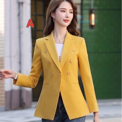 レディース 細身 スーツジャケット テーラード 着痩せ ビジネスジャケット フォーマル 薄手 サマージャケットオフィス 通勤 ブレザー