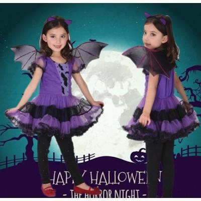 ハロウィン halloween コスプレ 衣装 子供 魔女 小悪魔 コスプレ