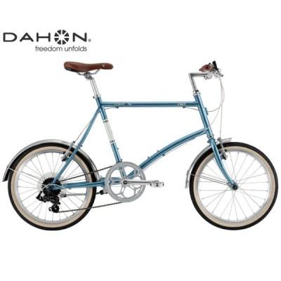 ミニベロ・小径車 2021 DAHON ダホン CALM カーム スティールブルー 7段変速 ホイール径20インチ