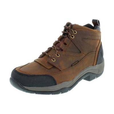 ブーツ アリアト Ariat レディース Terrain H2O アンクル レザー Hiking ブーツ Copper