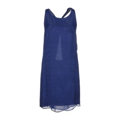 アリス・アンド・オリビア ALICE + OLIVIA ミニワンピース&ドレス ダークブルー L 100% レーヨン ミニワンピース&ドレス