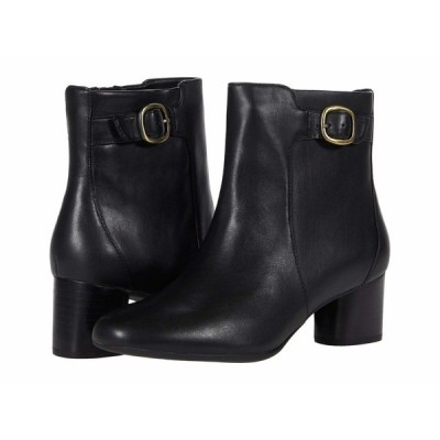 クラークス ブーツ&レインブーツ シューズ レディース Un Cosmo Vibe Black Leather