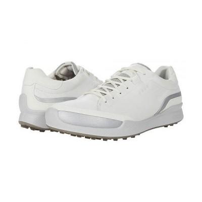 ECCO Golf エコー ゴルフ メンズ 男性用 シューズ 靴 スニーカー 運動靴 Biom Hybrid I Hydromax(TM) - White/Silver Metallic/White