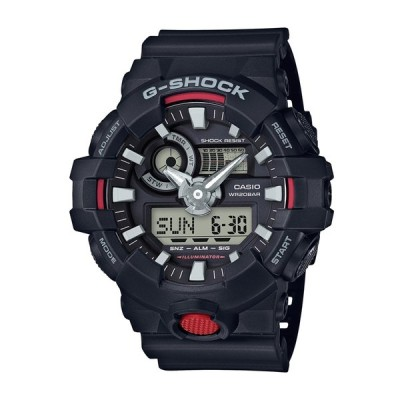 カシオ CASIO メンズ腕時計 G-SHOCK GA-700-1AJF ブラック/ブラック
