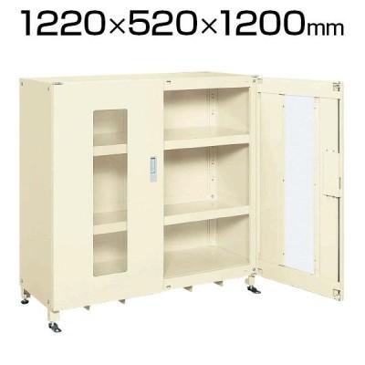 スーパージャンボ保管庫 SKS-125212AIK 幅1220×奥行520×高さ1200mm 長尺物 楽々収納