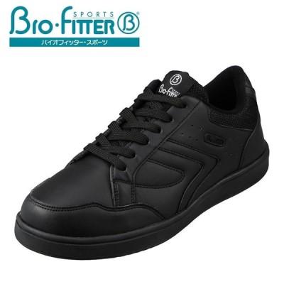 バイオフィッター スポーツ Bio Fitter BF-182 メンズ | スニーカー | 大きいサイズ対応 | 軽量 軽い | ブラック