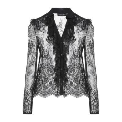 VANESSA SCOTT シャツ ブラック S ポリエステル 100% シャツ
