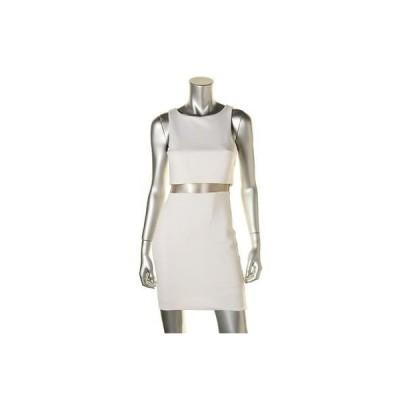 ドレス 女性  ベイリー 44 Bailey 44 8156 レディース Middle LineBacker ホワイト Ponte Party Clubwear ドレス M