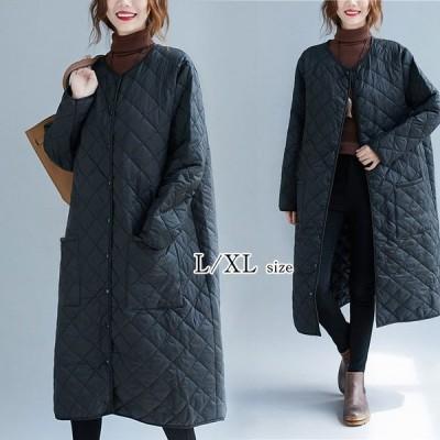 ダウンコート レディース 秋冬アウター フード付き 40代 ダウンジャケット 中綿 ロングコート 大きいサイズ 防寒 30代 50代 暖かい おしゃれ 可愛い