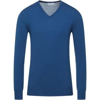 パオロ ペコラ PAOLO PECORA メンズ ニット・セーター トップス Sweater Bright blue