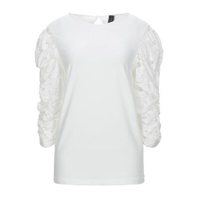 NORA BARTH T シャツ ホワイト M コットン 94% / ポリウレタン® 6% T シャツ