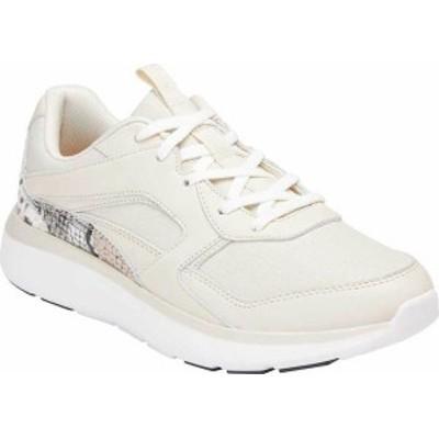 バイオニック レディース スニーカー シューズ Adela Sneaker Cream Boa Metallic Leather