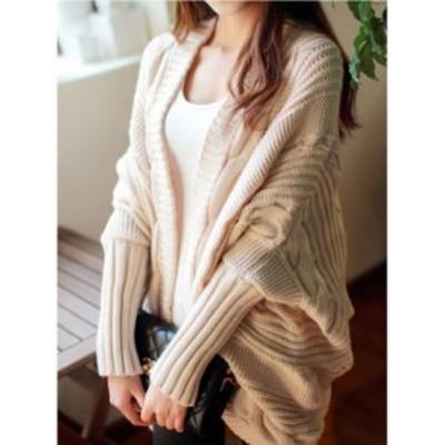 セーター  ニット カーディガン ジャケット 大人上品 暖か 長袖 大人可愛い 防寒 フェミニン 美シルエット