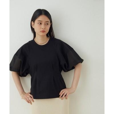 tシャツ Tシャツ 【WEB限定】ファブリックコンビプルオーバー